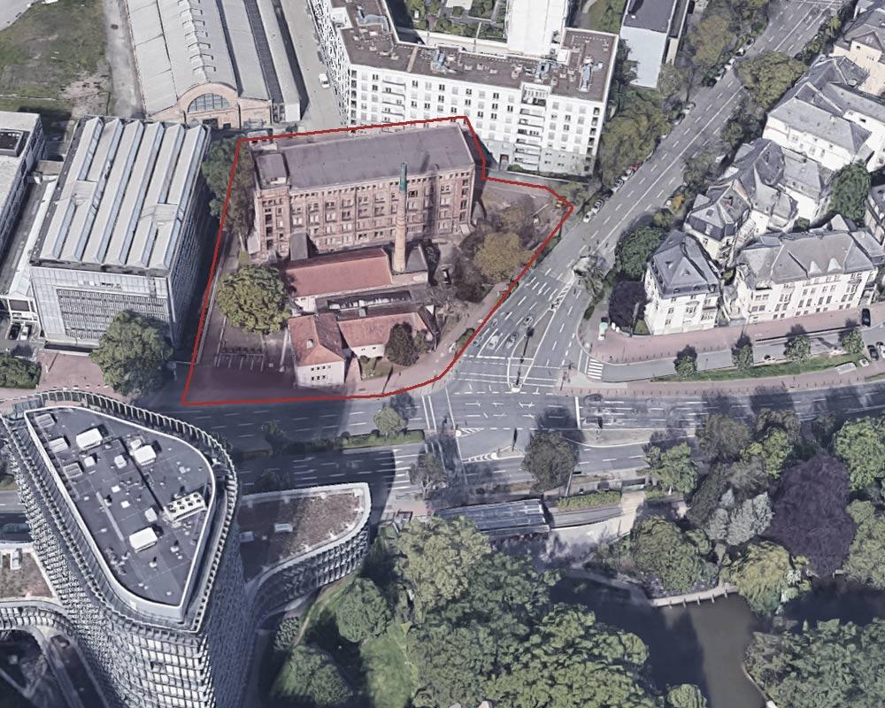 Startschuss für die Vorplanung der Außenanlagen am Neubau des Max-Planck-Instituts für empirische Ästhetik in Frankfurt