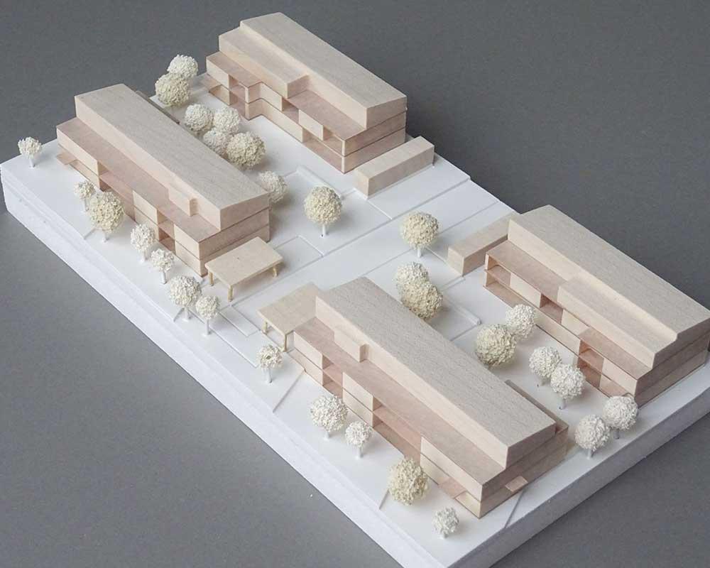 2. Preis - Gemeinschaftliches Wohnprojekt 'Zum Feldlager' in Kassel