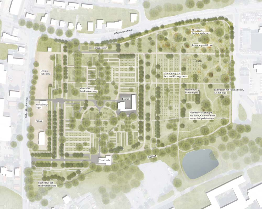 Entwicklungsplanung für die Friedhöfe der Stadt Alfeld (Leine) vorgestellt