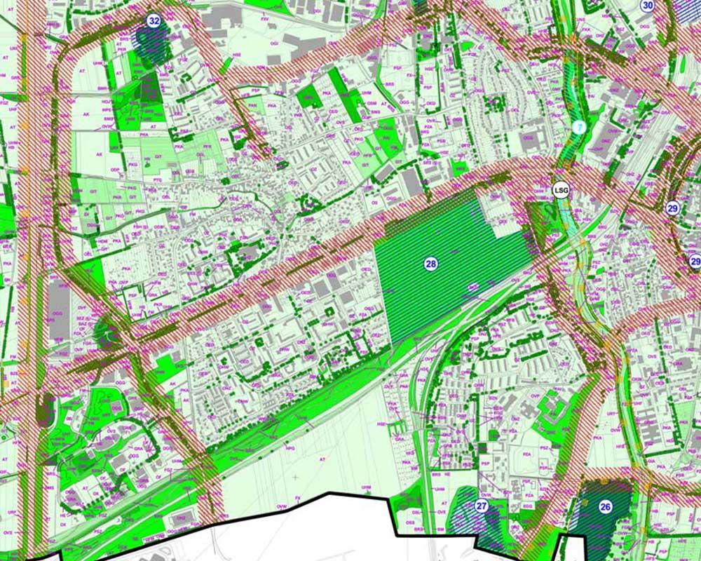 Landschaftsplan für Göttingen