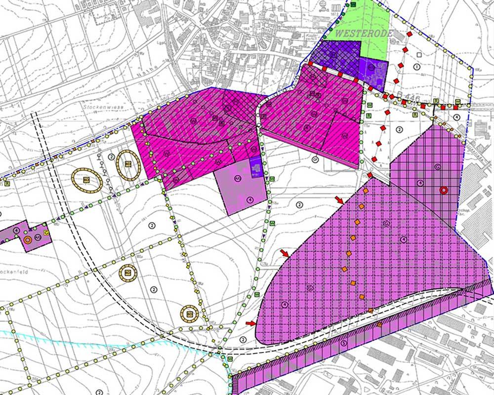 """Umweltverträglichkeitsstudie Gewerbegebiet """"Breiter Anger"""" in Duderstadt"""