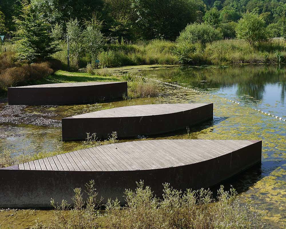 Parklandschaft Friedrichstaler Kanal Detmold