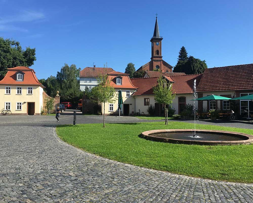 Schlossgarten Stockhausen im Vogelsberg