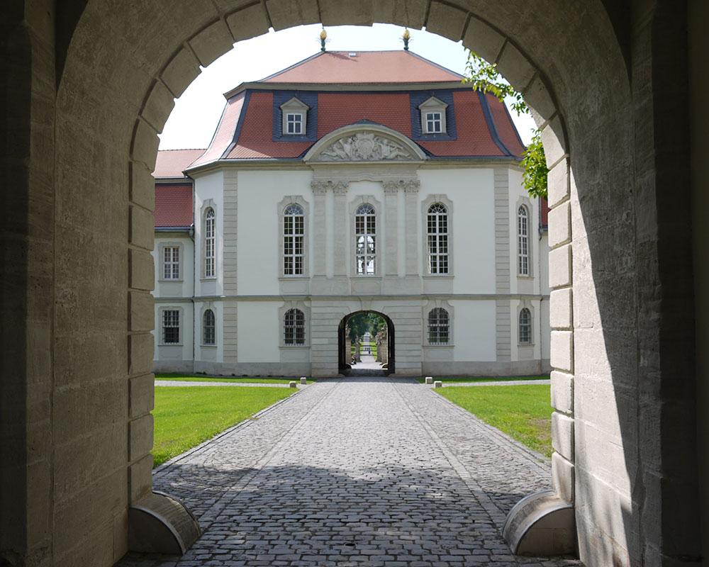 Schlossgarten Fasanerie südlich von Fulda